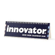 イノベーター デスクカレンダースリム 2020の商品画像
