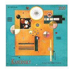 カンディンスキー カレンダー 2020の商品画像
