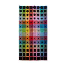 丸と四角の波紋 ブランケットの商品画像