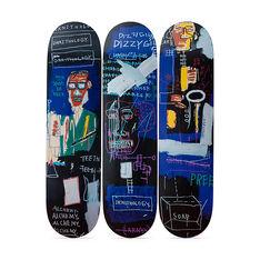 バスキア:Horn Players スケートボード 3点セットの商品画像