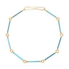 Beatriz Palacios ネオンブルー ネックレスの商品画像
