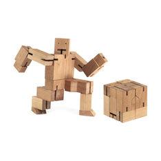Cubebot ウッドトイの商品画像