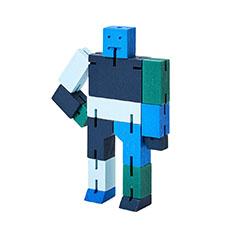 キューボット スモール マルチカラー ブルーの商品画像