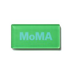 MoMA デュオカラー アクリルマグネット グリーンの商品画像