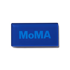MoMA デュオカラー アクリルマグネット ブルーの商品画像