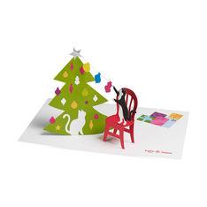 MoMA クリスマスカード クリスマスキャッツ (8枚セット)の商品画像