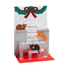 MoMA クリスマスカード キャロリングキャッツの商品画像