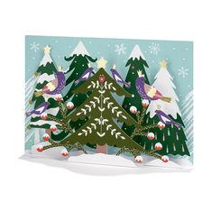MoMA クリスマスカード フォークフォレストの商品画像
