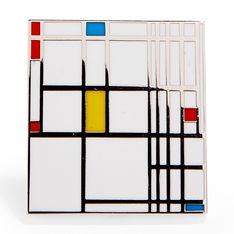 MoMA エナメルピン Piet Mondrianの商品画像