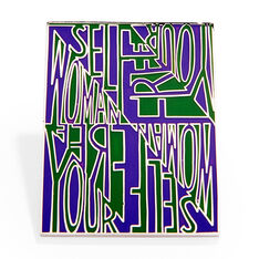 MoMA エナメルピン Faith Ringgoldの商品画像