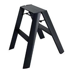 Lucano ステップスツール 2step ブラックの商品画像