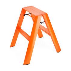 Lucano ステップスツール 2step オレンジの商品画像