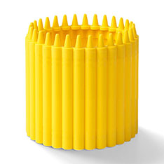 Crayola(R) クレヨンカップ イエローの商品画像