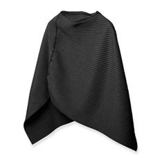 プリースポンチョ ショート ブラックの商品画像
