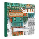 ファンタスティック・シティ カラリングポストカードの商品画像