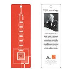フランク・ロイド・ライト:タリアセン ブックマーク レッドの商品画像