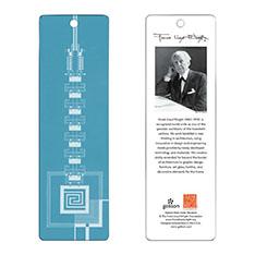 フランク・ロイド・ライト:タリアセン ブックマーク ブルーの商品画像