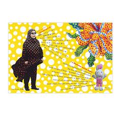 草間彌生:ポストカード みーこ&歌詞の商品画像