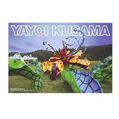 草間彌生:ポストカード 花咲ける妻有の商品画像
