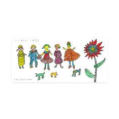 草間彌生:ポストカード ハーイ・コンニチワ!の商品画像