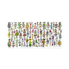 草間彌生:ポストカード ガールズの商品画像