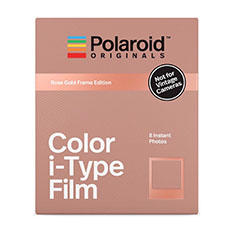 Polaroid カラーフィルム i-Type ローズ ゴールド フレームの商品画像