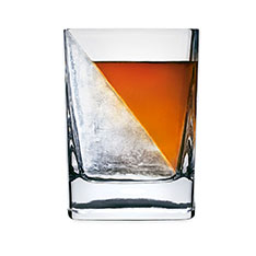 ウィスキーウェッジ グラスの商品画像