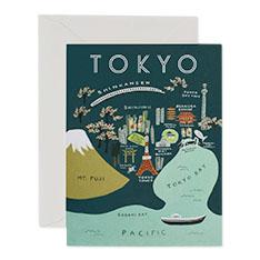 Tokyo Map(トーキョー)・カードの商品画像