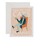 You're The Cat's Pajamas(キャットパジャマ)・カードの商品画像
