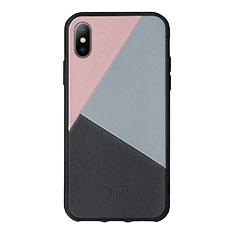 Native Union iPhone X ケース トリコレザー ローズの商品画像