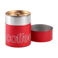 コーヒーキャニスター レッドの商品画像