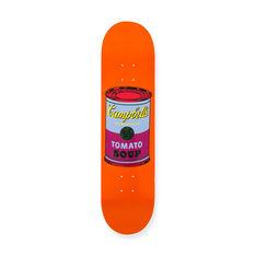 ウォーホル:スケートボードColored Campbell's Soup Cans Purpleの商品画像