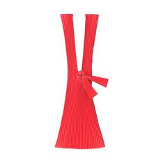 PLECO プリーツバッグ L レッド リサイクル ポリエステルの商品画像