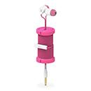 PHILO スプール イヤフォン ピンクの商品画像