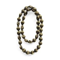 pure pleats ネックレス 大粒 ゴールドの商品画像
