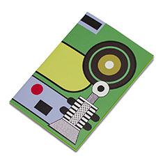 ラバーバンド パスクエ ノートブック グリーンの商品画像