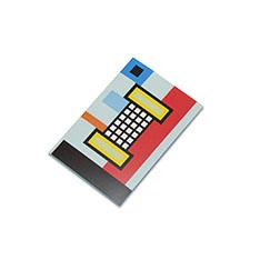 ラバーバンド パスクエ ノートブック A6 ブルーの商品画像