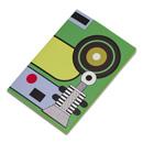 ラバーバンド パスクエ ノートブック A6 グリーンの商品画像