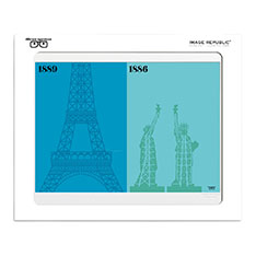 IMAGE REPUBLIC Paris vs NY エンジニア ポスターの商品画像