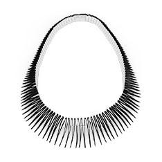 Serpent ネックレス ブラック/ホワイトの商品画像