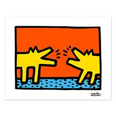 キース・ヘリング:UNTITLED 1968 ポスターの商品画像