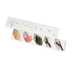 葉枝おき 箸置(5個セット) カラーの商品画像