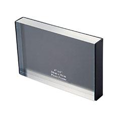 MoMA アクリルフォトフレーム ブラックの商品画像