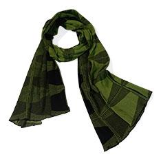 三角コーン スカーフ グリーン/ブラックの商品画像