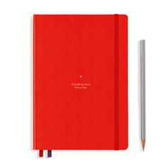 ロイヒトトゥルム バウハウス ノートブック A5 レッドの商品画像