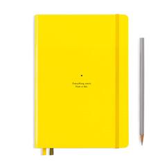 ロイヒトトゥルム バウハウス ノートブック A5 レモンの商品画像