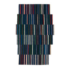 Nanimarquina Lattice ラグ ブルー 148 x 240 cmの商品画像