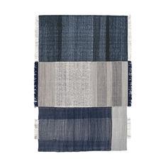Nanimarquina Tres ラグ ブルー 200 x 300 cmの商品画像