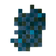 Nanimarquina Do-Lo-Rez2 ラグ ブルー 207 x 253 cmの商品画像