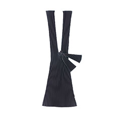 PLECO プリーツバッグ L ブラック リサイクル ポリエステルの商品画像
